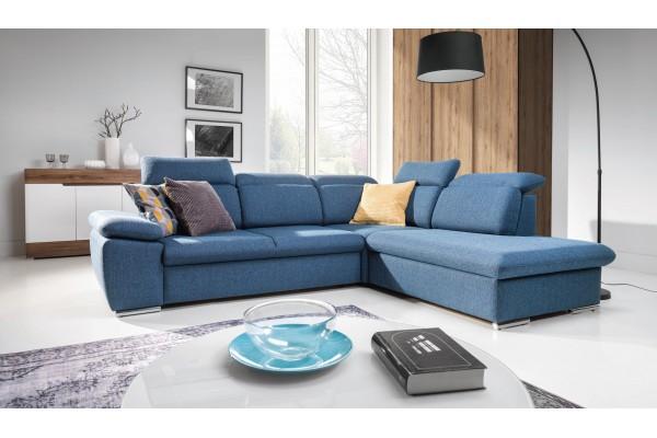 Moderná luxusná sedacia súprava ALDO - široký výber farieb