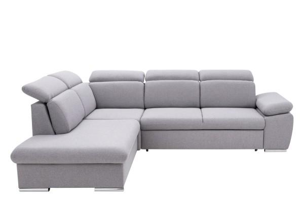 Moderná luxusná sedacia súprava ALDO - svetlosivá