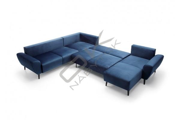 Ultramoderná luxusná sedacia súprava BOSCO U - široký výber farieb