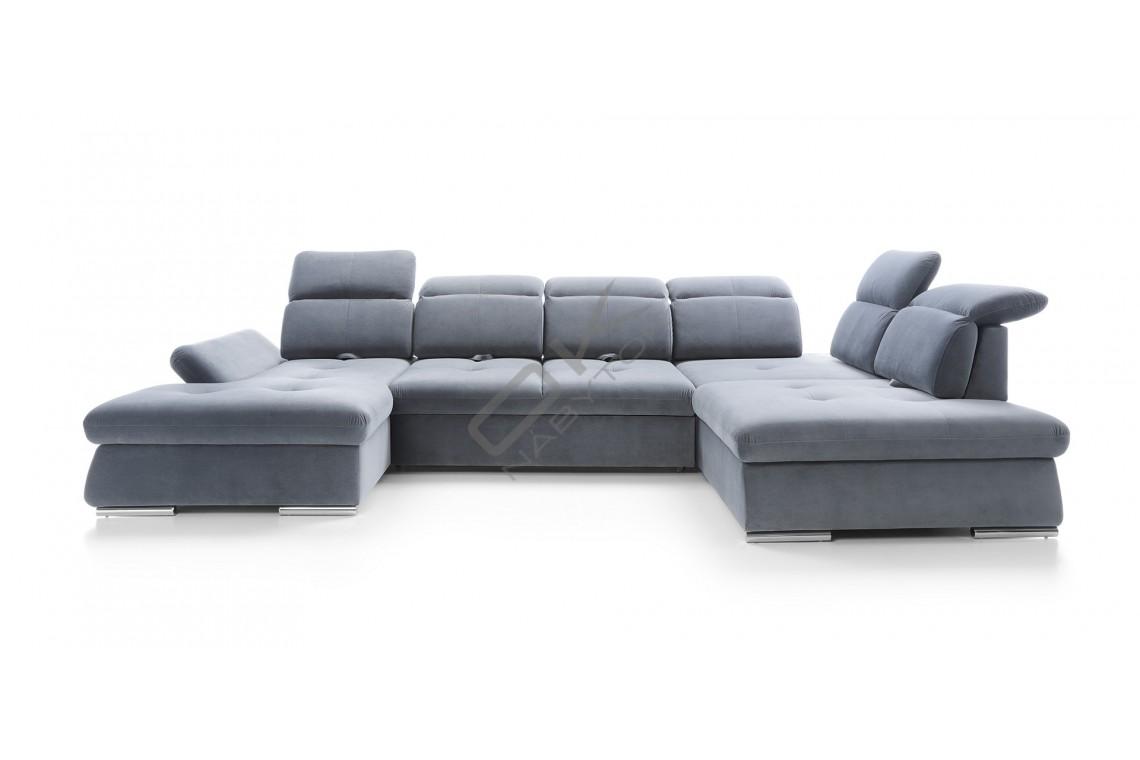 """Moderná luxusná sedacia súprava FOCUS U """"Mega akcia"""""""