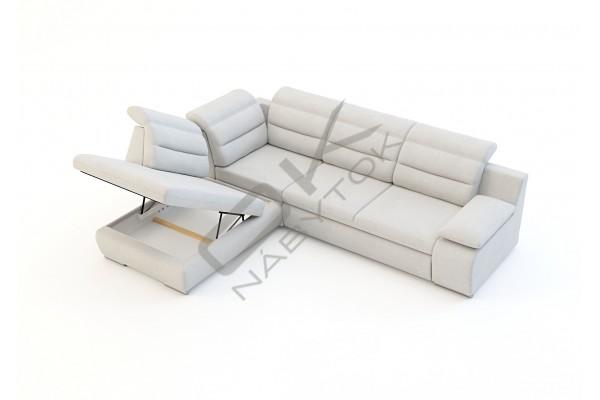 Luxusná sedacia súprava GRECO - svetlomodrá