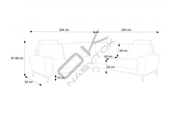 """Moderná sedacia súprava MONET I """"Mega akcia"""""""