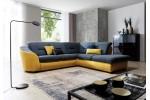 Vasto - ( titulná foto ) - látka Milton 13 tmavomodrá/sedenie + Milton 11 žltá/korpus ( Clasic - 1. cenová skupina ) žltá 1159.00€