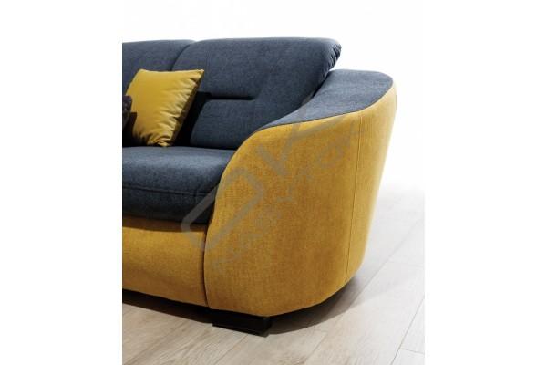 Rohová sedačka VASTO VEĽKÝ ROH - široký výber farieb