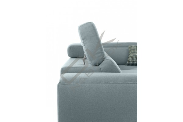 Rohová sedacia súprava GENOVA L - široký výber farieb