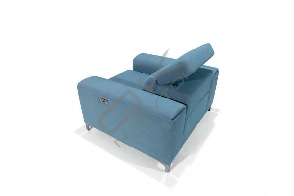 Relaxačné kreslo GENOVA 60BL+BP s funkciou RELAX electric
