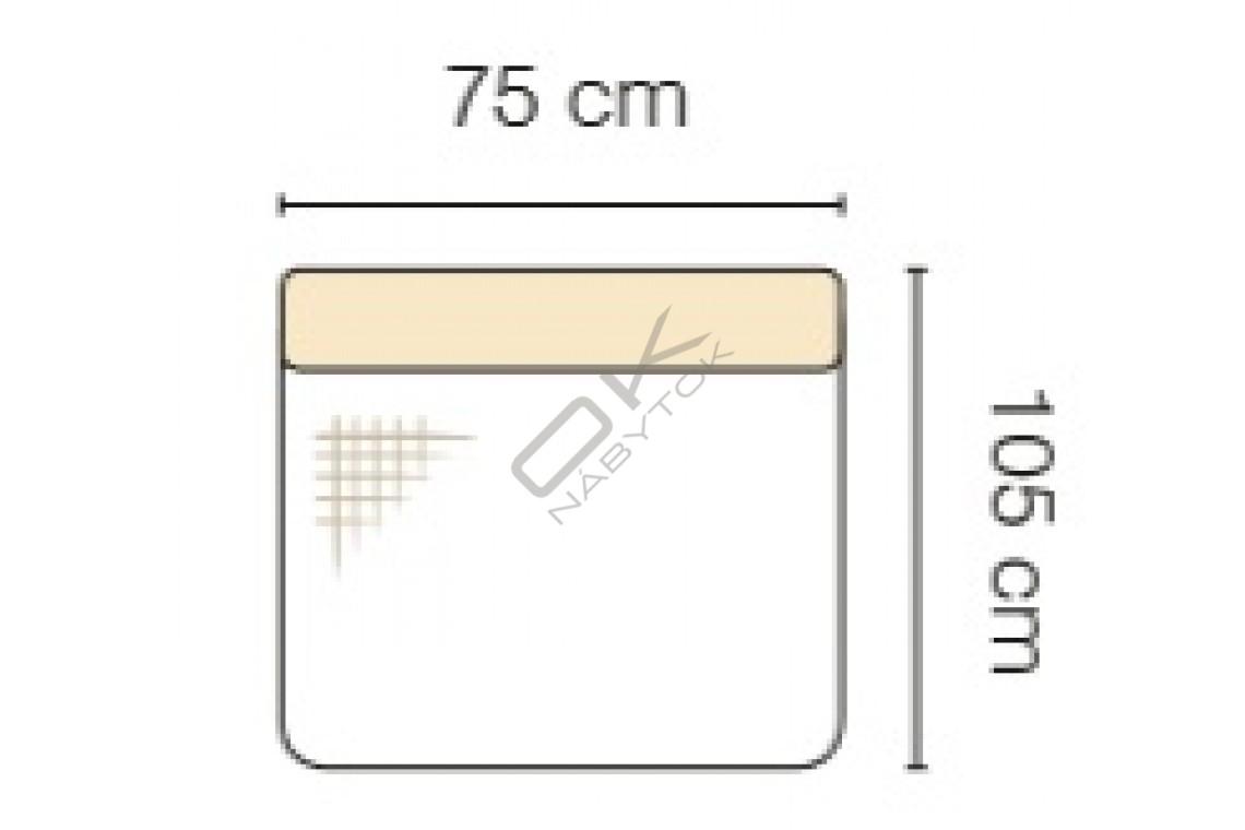 MODUL GENOVA 75 RECLINER s funkciou elektrického polohovania