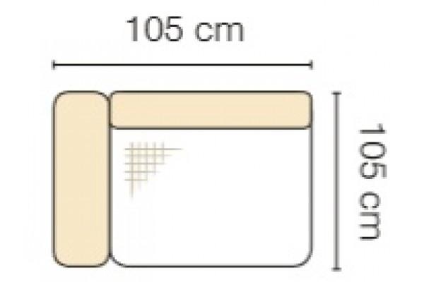 MODUL GENOVA 75BL RECLINER s funkciou elektrického polohovania