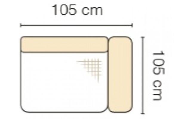 MODUL GENOVA 75BP RECLINER s funkciou elektrického polohovania