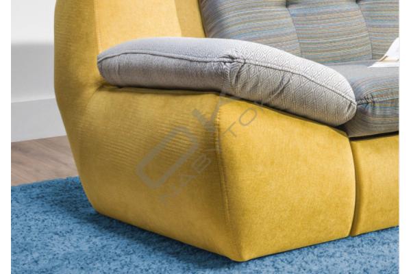 Rohová sedacia súprava MELLO XL, s funkciou rozkladania a úložným priestorom