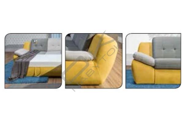 Rohová sedacia súprava MELLO MALÝ ROH
