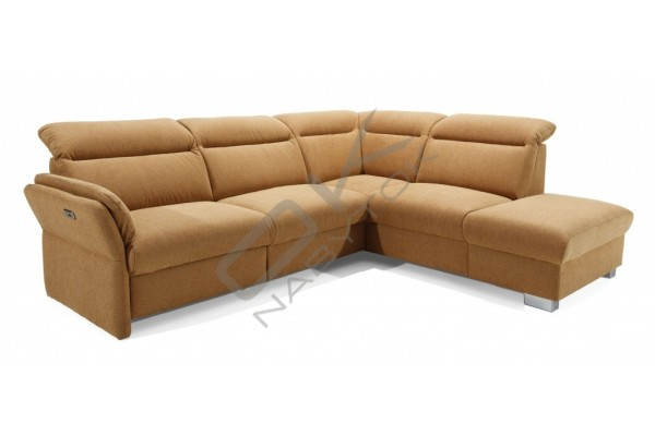 Rohová sedačka RENO s funkciou RELAX - široký výber farieb