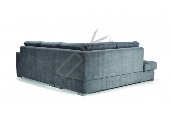 Rohová sedacia súprava VERONA, s funkciou rozkladania a úložným priestorom