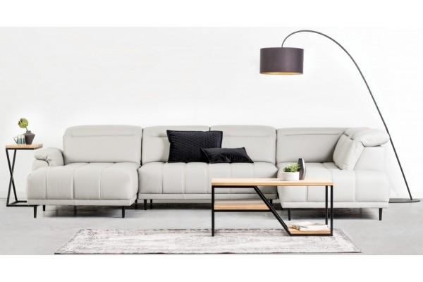 WERSAL Kožená luxusná sedacia súprava CALVARO XL - široký výber farieb