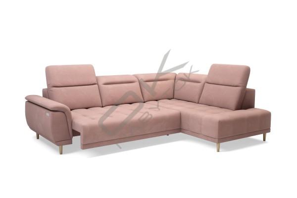 WERSAL Luxusná rohová sedacia súprava CALVARO L - široký výber farieb
