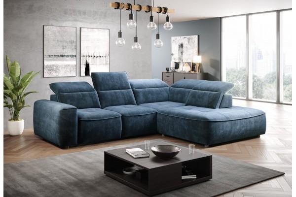WERSAL Luxusná sedacia súprava COLOMBO L - široký výber farieb