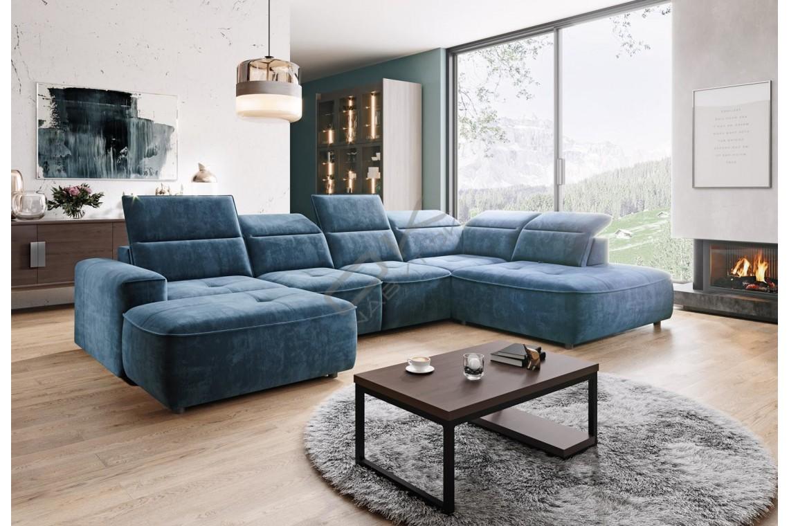 WERSAL Luxusná sedacia súprava COLOMBO XL - široký výber farieb