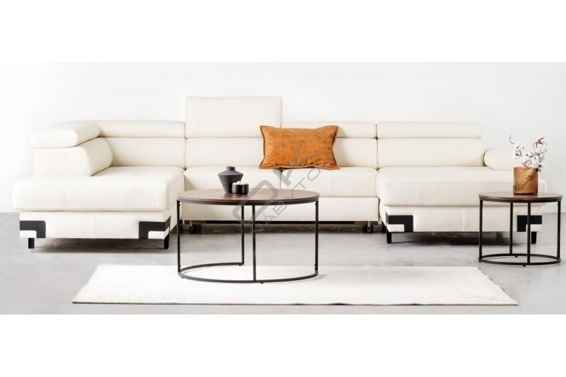 WERSAL Kožená rozkladacia sedacia súprava EMPORIO XL - široký výber farieb