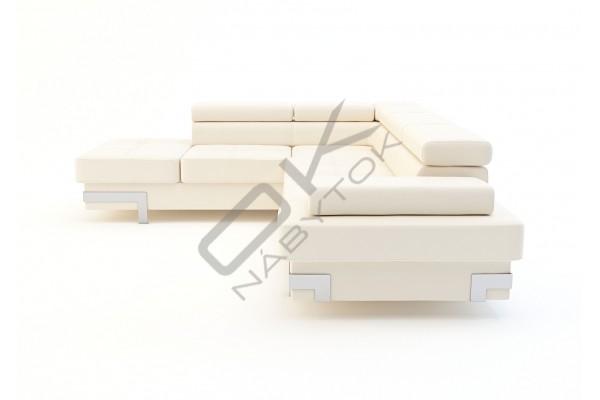 WERSAL Rozkladacia rohová sedacia súprava EMPORIO L - široký výber farieb