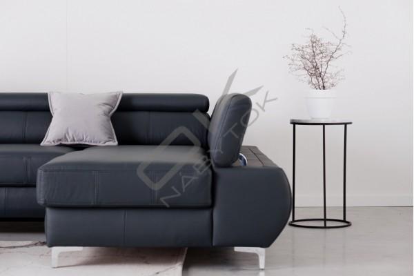 WERSAL Kožená rozkladacia sedacia súprava FLAME XL - široký výber farieb