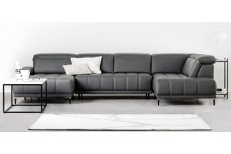 """WERSAL Kožená luxusná sedacia súprava FOCUS XL """"Mega akcia"""""""