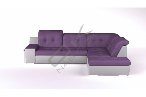WERSAL Rozkladacia rohová sedacia súprava GALAXY A - široký výber farieb