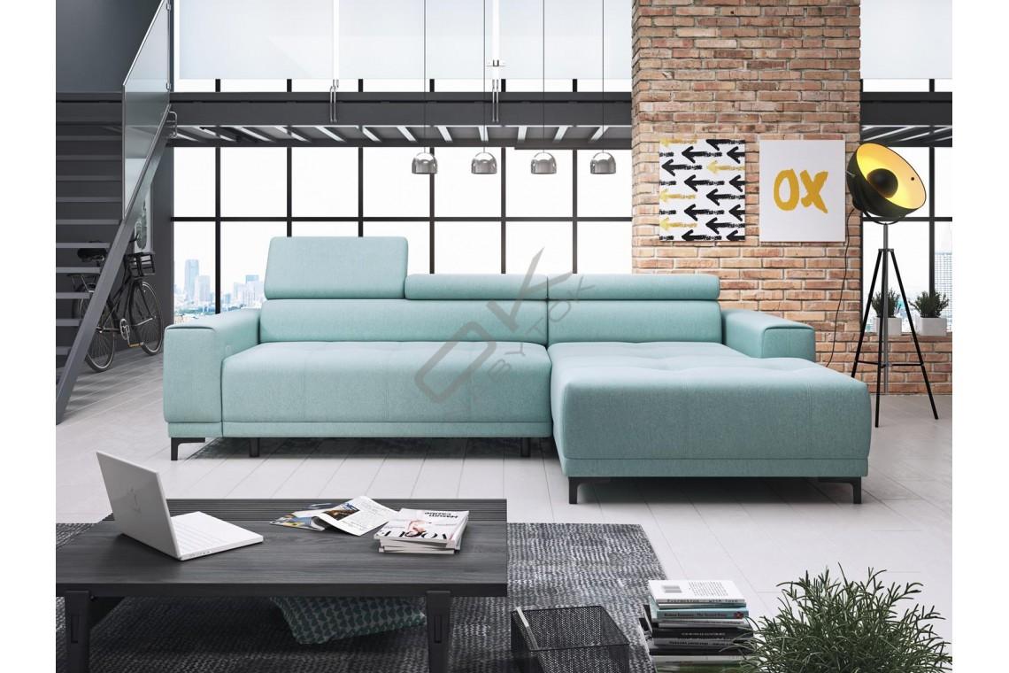 WERSAL Luxusná rohová sedacia súprava HUGO MINI - široký výber farieb