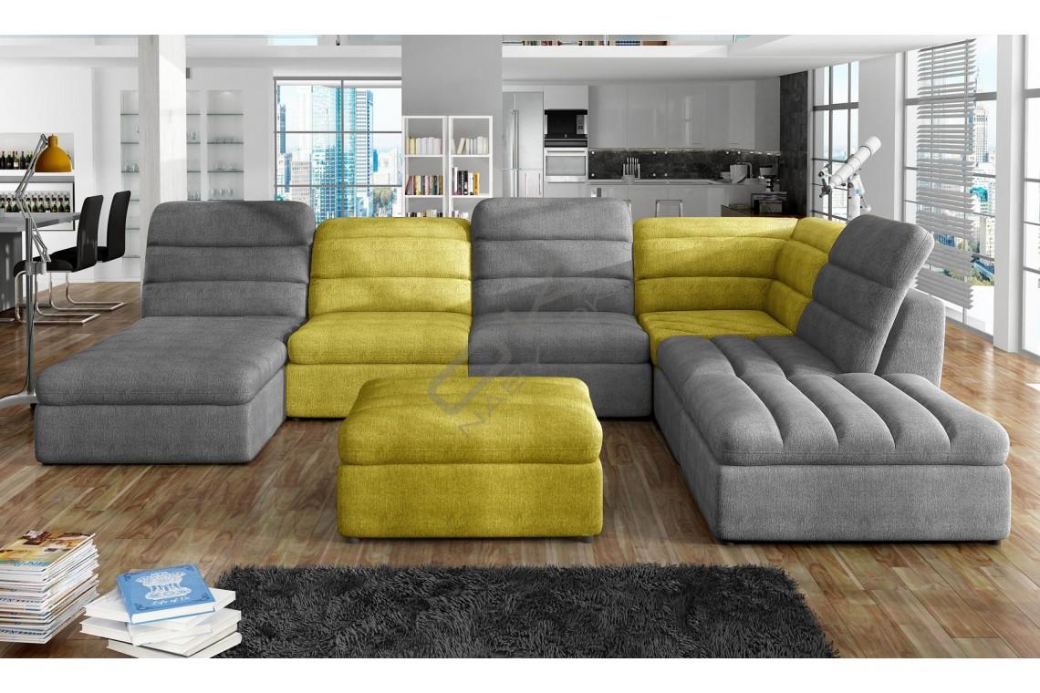 WERSAL sedacia súprava MODEO XL s funkciou rozkladania a úložným priestorom - široký výber farieb
