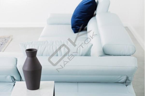 WERSAL Kožená rozkladacia rohová sedacia súprava MOLINA MINI - široký výber farieb