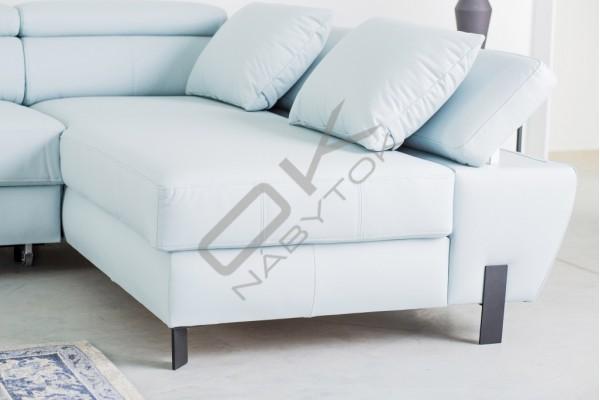WERSAL Kožená rozkladacia sedacia súprava MOLINA XL - široký výber farieb
