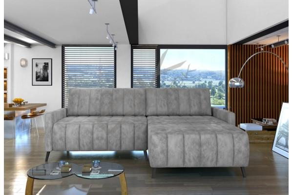 WERSAL Luxusná rozkladacia rohová sedacia súprava  MOLLY CORNER - široký výber farieb