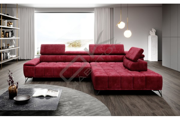 WERSAL Rohová sedacia súprava PALLADIO L - široký výber farieb