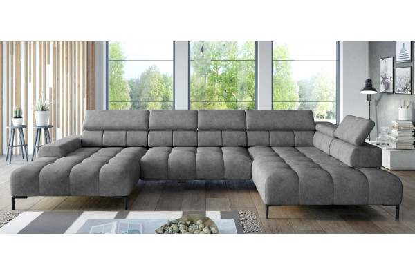 SKLADOM Luxusná sedacia súprava PLAZA XL v umývateľnej látke Easy Clean
