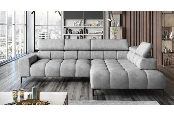 SKLADOM Luxusná sedačka PLAZA L v umývateľnej látke Easy Clean